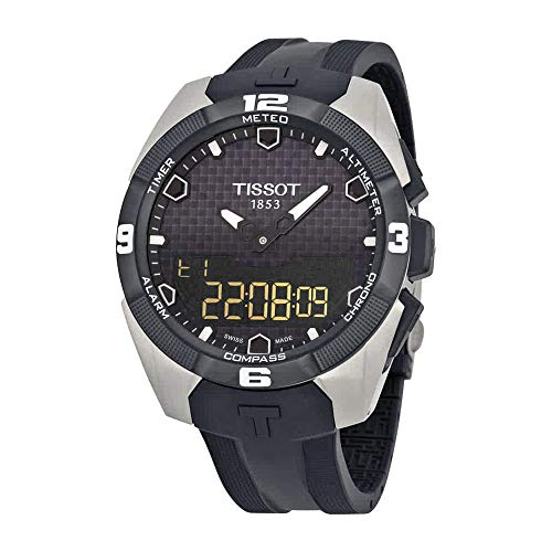 Tissot Men's T0914204705100 T-Touch Expert Analog-Digital Titanium ()