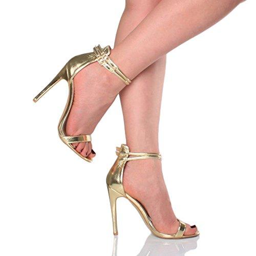 EKS Tira de tobillo Mujer Gold Matt