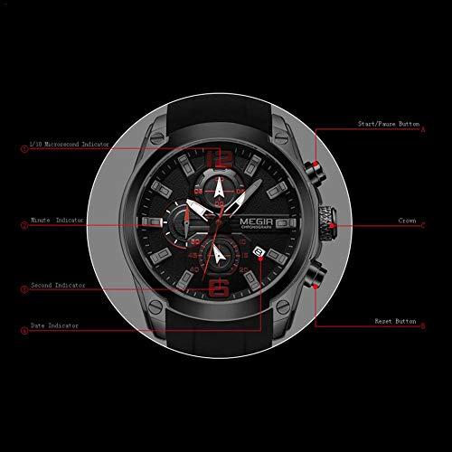 foreverwen Luminous Quartz Watch Fashion Casual Business Dress Wristwatch Waterproof Full Stainless Steel Analog Chronograph Three Time Keeping Indicator by foreverwen (Image #6)
