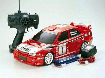 1/10 XB(エキスパートビルト)シリーズ ランサーエボリューションVI WRC (1/2)