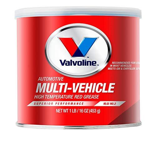Valvoline Multi-Vehicle High Temperature Red Grease 1 LB Tub