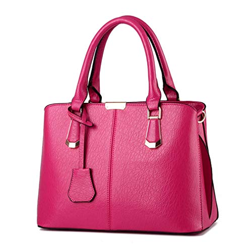 Casual Ladies Bags Messenger Shoulder Handbags Totes qingqinghebiao Hot Pu Leather Pink Bags Female Women XRw8qv