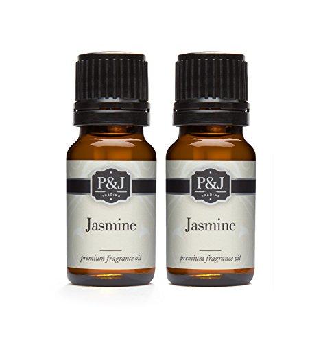 Jasmine Fragrance Oil - Premium Grade Scented Oil - 10ml - 2-Pack
