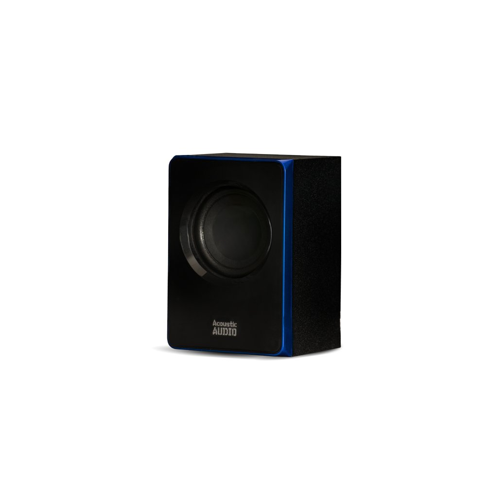Acoustic Audio AA5102 Bluetooth Powered 5.1 Speaker System Home Theater Surround, Black (AA5102) by Acoustic Audio by Goldwood (Image #3)