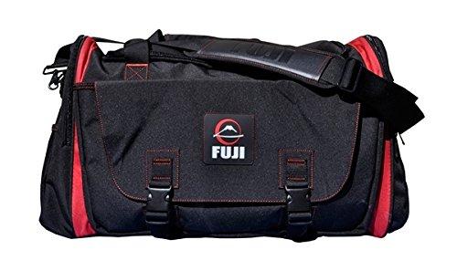Fuji Bag - Fuji Sports High Capacity Duffle Bag - Black/Red