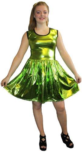 InsanityDamen Kleid Grün Grün