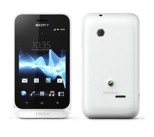 Sony Xperia Tipo ST21i Unlocked (White) International Version No Warranty by Sony