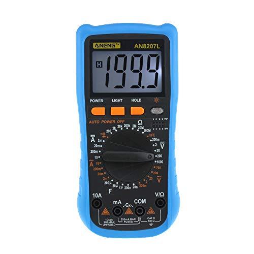 (GorNorriss Electronics Gadgets ANENG8207L Digital Voltmeter Ammeter Ohmmeter Multimeter Volt AC DC Tester Meter)