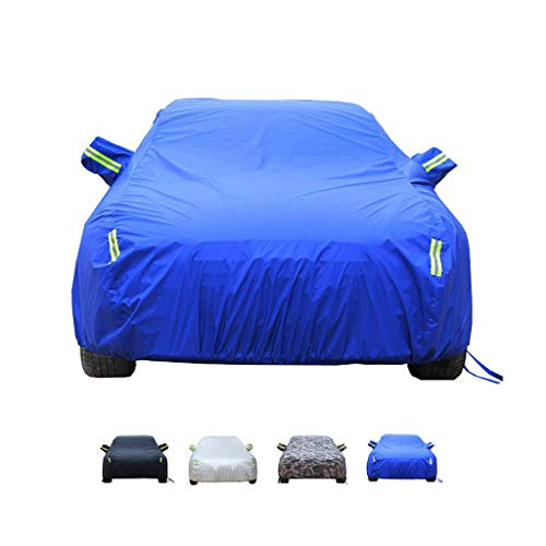 Yguocy Car Covers, Thick and Cotton Velvet Hood, Compatible with AstonMartin Virage, Can Adapt to All Kinds of Weather (Color : D, Size : 2012 6.0 Coupe)