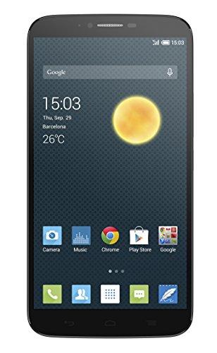 Alcatel Onetouch Hero 2 15.2cm (6 Zoll) Full HD Display IPS, 16GB,2GHz Octa-Core, 2GB RAM, dark grey