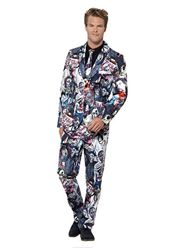 Zombie Costume With Trousers Jacket & -