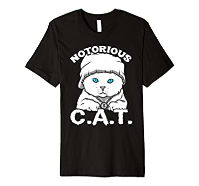Funny Cat Tshirts for Women Men Youth - Notorious C.A.T.