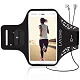 Running Armband for iphone X XS 8 Plus 6 plus 6s plus 7 Plus Samsung S8 S7 S9 Phone Holder for Oneplus 5t Google Pixel 2 Huawei P9 P10 P20 Sports Arm Pouch with Reflective Strip for 5.0-6.0 inch Phone