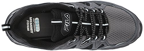 Shadow Memory Dark Trail TKO 0 Black Men's Tr Running Castlerock Wide Shoe 5 Fila qHn75PP