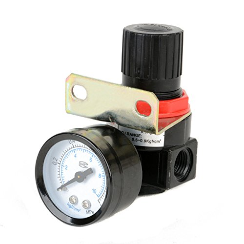 Air Control Pressure Gauge Compressor Relief Regulating Regulator Valve AR2000