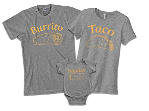 Taco | Mom Mother Women's Fitted T-Shirt | X-Large, Sport Gray