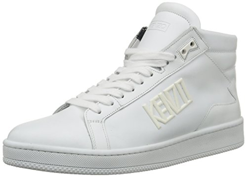 Kenzo Tears, Herren Hohe Sneakers Weiß (nappa White)