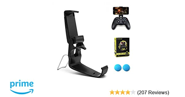 dainslef Xbox One Controller Foldable Mobile Phone Holder Smartphone Clamp  Game Clip for Microsoft Xbox One S Game Controller Steelseries Nimbus Duo