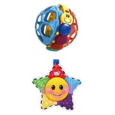 Baby Einstein Bendy Ball and Star Bright Symphony Toy Bundle : Baby