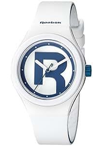 Reebok RC-IDR-L2-PWIW-WL Reloj Análogo para Hombre, Color Blanco