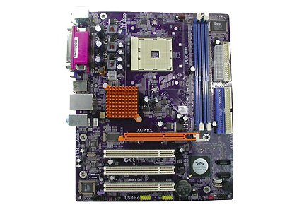 (EliteGroup K8M800-M2 (1.0) - Motherboard - micro ATX - Socket 754 - K8M800 - Ethernet - onboard graphics - 6-channel audio)