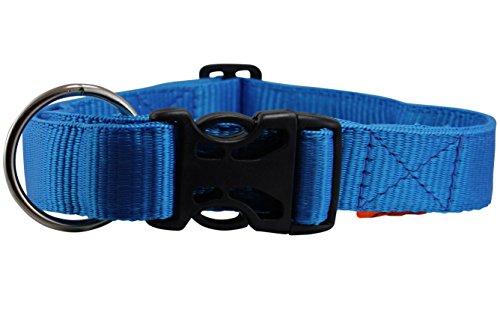Heavy Duty Adjustable Nylon Dog Collar 1.5