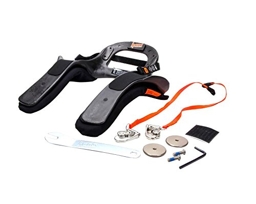 HANS Device Youth Device DK 16217.421 SFI Sport 3 Head and Neck Restraint Quick Click - Simpson Racing 20 Youth HANS III, QC Sliding for SA Helmet, SFI ()