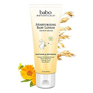 Babo Botanicals Oatmilk Calendula Moisturizing Baby Lotion -- 8 fl oz