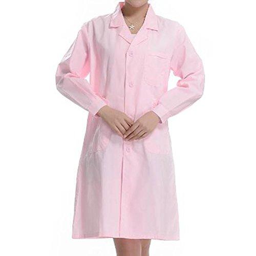 Pink Lab Coat - 7
