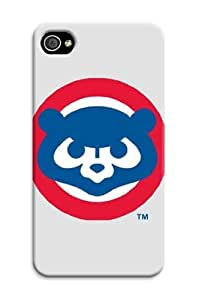 iphone 5 5s Protective Case,3D Best Baseball iphone 5 5s Case/Chicago Cubs Designed iphone 5 5s Hard Case/Mlb Hard Case Cover Skin for iphone 5 5s