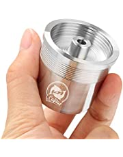MG Coffee Stainless Steel Refillable Coffee Pods Metal Crema Reusable Capsules Permanent Coffee Pod Holder Compatible for X7.1 X8 X9 Y3 Y 1.1 Y5 Series Original Line Machines