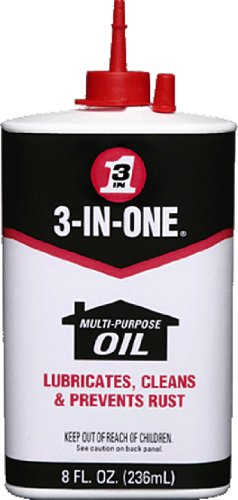 3-IN-ONE Multi-Purpose Oil, 8 OZ [12-Pack]
