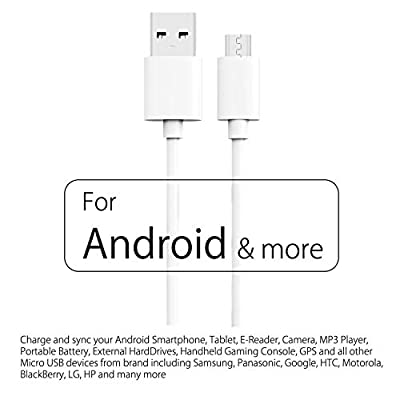 noot products Car Charger for Samsung Galaxy S7/S6/S6 Plus/S4/Note 5/4/Edge/J7 V/J3 Eclipse/Emerge/J7 Perx-36W Quick Charge 3.0 2-Port Charge Adapter+6FT feet Micro USB Fast Charging Cable: Home Audio & Theater