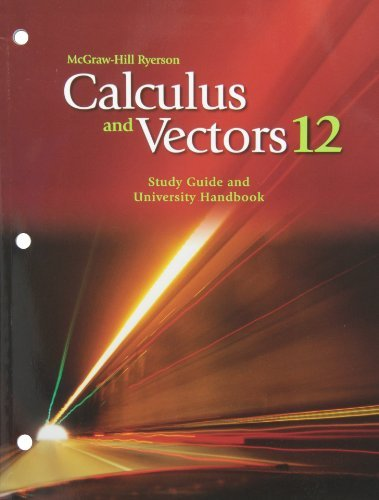 mhr-calculus-and-vectors-12-study-guide-and-university-handbook-by-chris-knowles-august-252008