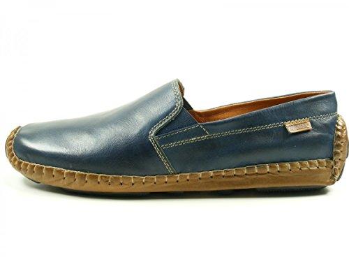 Pikolinos Jerez 09z-5511C1 Zapatos Mocasines de cuero para hombre Blau
