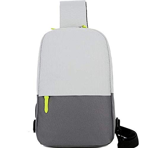 746 Oxford - LCZHP Lightweight Casual Backpack Men's Men's Chest Shoulder Bag Oxford Cloth Bag Outdoor Mountaineering Bag Shoulder Bag Shoulder Bag