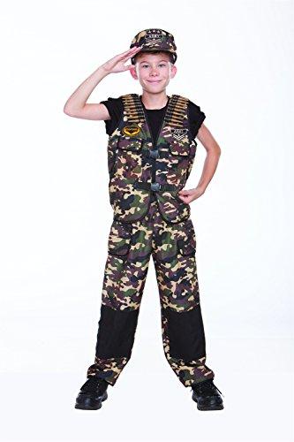 [Combat Captain Costume] (Law Enforcement Child Costume)