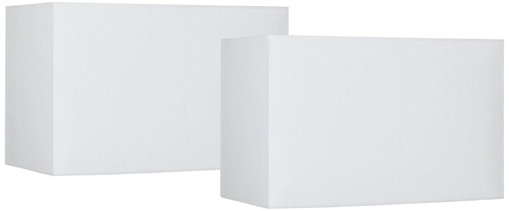 Off-White Set of 2 Hardback Shades 8/16x8/16 (Spider)