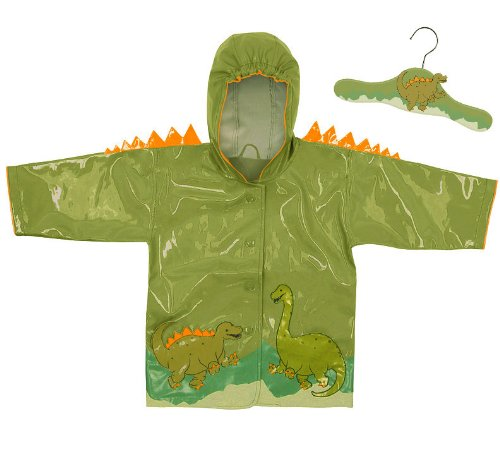 Green Kidorable (Kidorable Dinosaur Green Raincoat 2T)