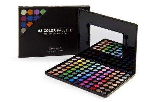 88 Matter-Lidschatten farben palette von BHCosmetics