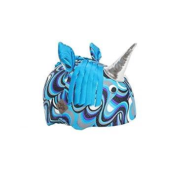 Unicorn Casco Cubierta: Cola Wags Casco Cubre Make It diversión para niños y Adultos Usar