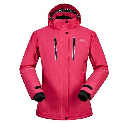 Chaqueta de esquí Impermeable para Mujer Remata Ropa Exterior para Abrigos, M, Rosa Roja: Amazon.es: Ropa y accesorios