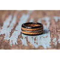 Whiskey Barrel, Guitar String, and Ebony Wood Ring