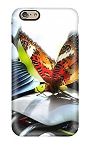 Iphone 6 Cover Case - Eco-friendly Packaging(butterfly And Robot) 6572529K46850178