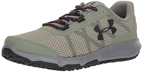 Under Armour Men's Toccoa Running Shoe, Moss Green (300)/Graphite, - Green Moss Mens