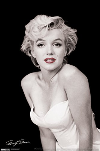 Marilyn Monroe Red Lips Hollywood Sex Symbol Actress Legend Photograph Photo Poster   12X18