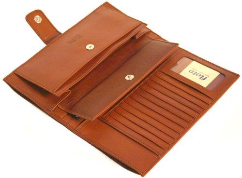 Firenze Leather Document Folder Color: Black by Floto Imports (Image #6)