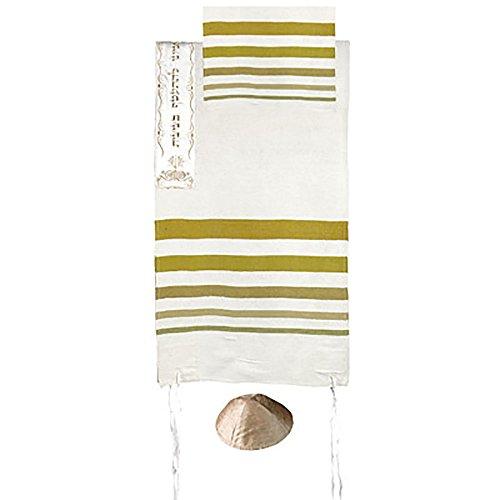 Hand Woven Raw Silk Tallit...
