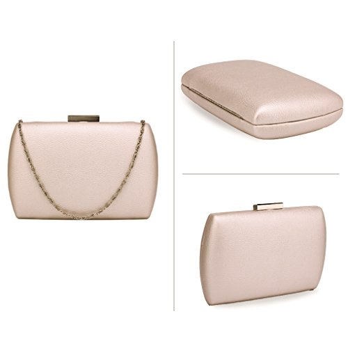 Dinner Party HARD Out Wedding For Evening CLUTCH CASE Hard Women's Purse Night Handbags LeahWard IVORY Case Clutch 7wPSn6R