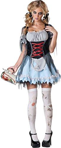 Zombie Beer Maiden Costumes (Zombie Beer Maiden Adult Costume - Medium)